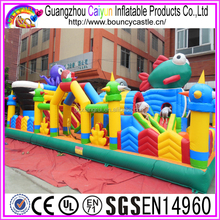 Inflatable Jumping Castle With Low Price, Ocean creatures inflatable castle