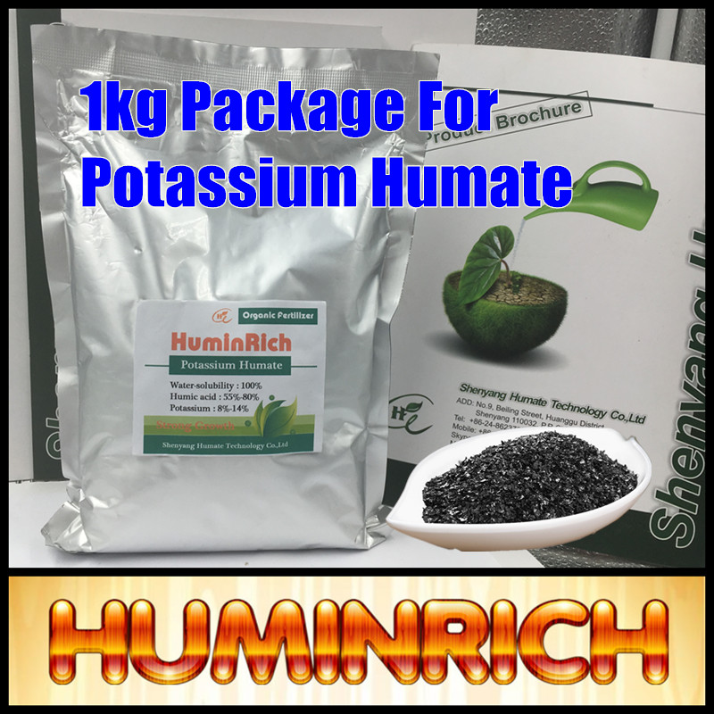 Huminrich Organic Foliar Spray Fertilizer 100% Water Soluble Super Potassium Humate Flakes