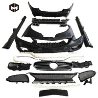 PP Front Rear Bumpers Side Skirts AMG Wide Body Kit for Mercedes Benz E-Class W212 sports version E63 AMG