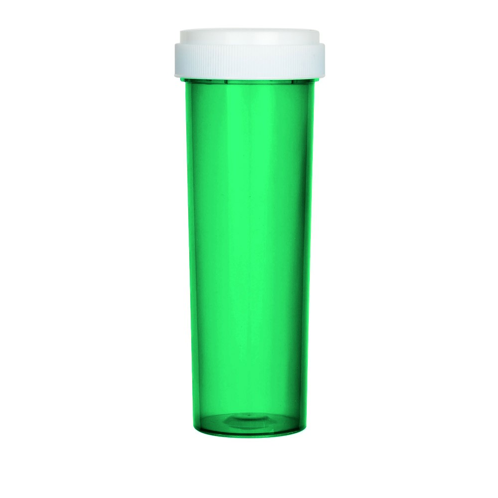 Child resistant reverse cap bottle push and turn pop vials Rx pop vials with multiple sizes