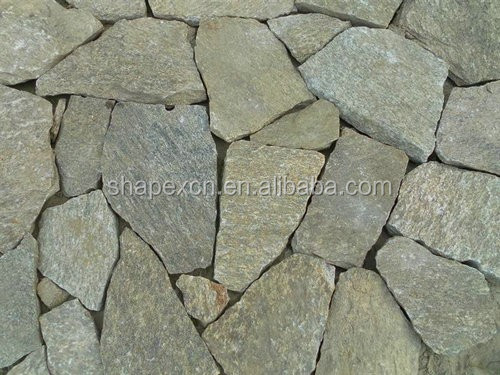 Landscaping slate rock price per square meter