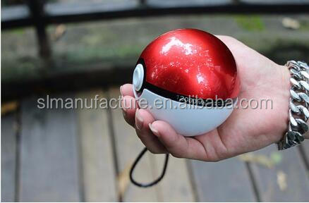 2016 New Pokemon GO Ball Shape 10000mAh Pokemon Power Bank