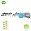 2017 Latest facial tissue making machine production line