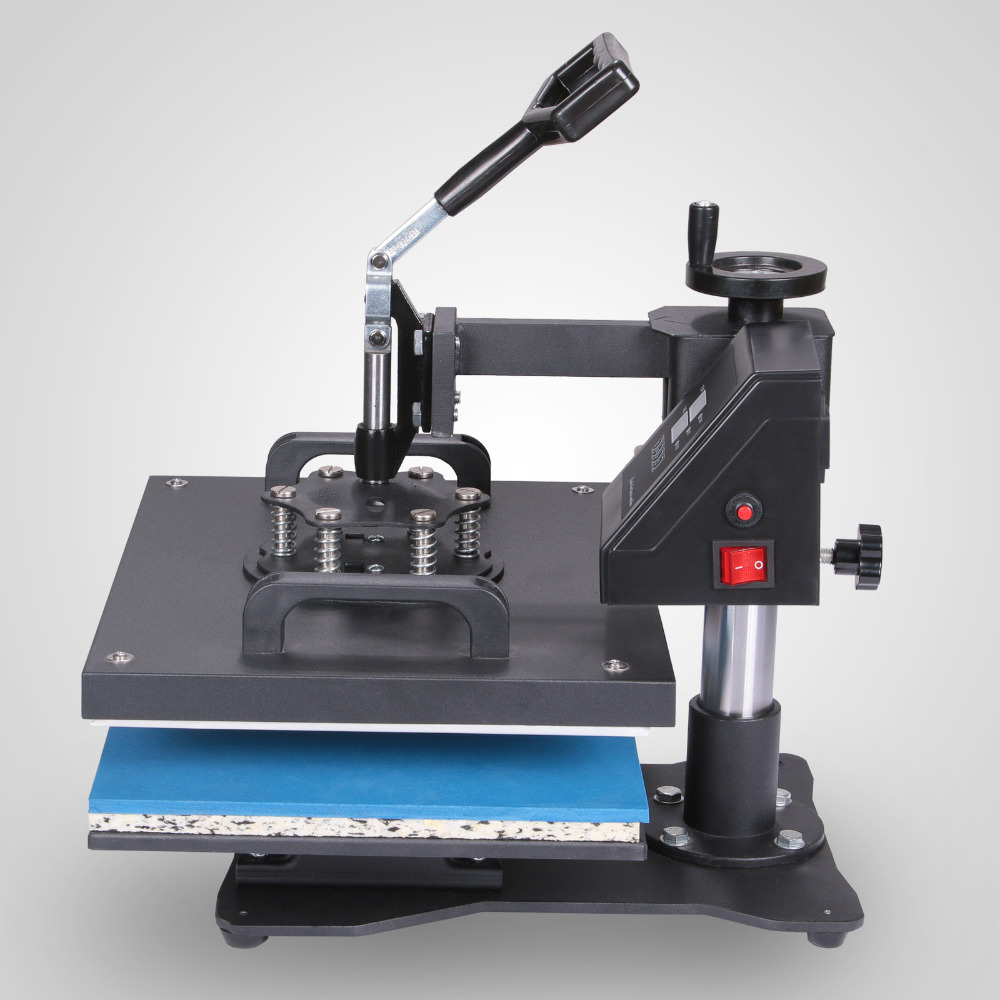 "6 in 1 Digital Heat Press Machine Multifunctional Transfer Sublimation for T-Shirt Hat Cap 15""<strong>X12</strong>"" (38X30cm)"