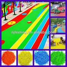 Colored Rubber Mulch For Playground -FN-I-151102