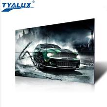55 inch Double sided LCD TV video wall with SAMSUNG panel 1.8mm 700nits