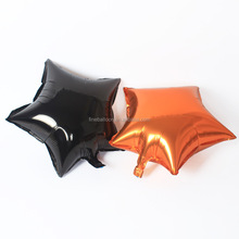 Best Quality Halloween Party Decoration Inflatable Black Star foil balloons