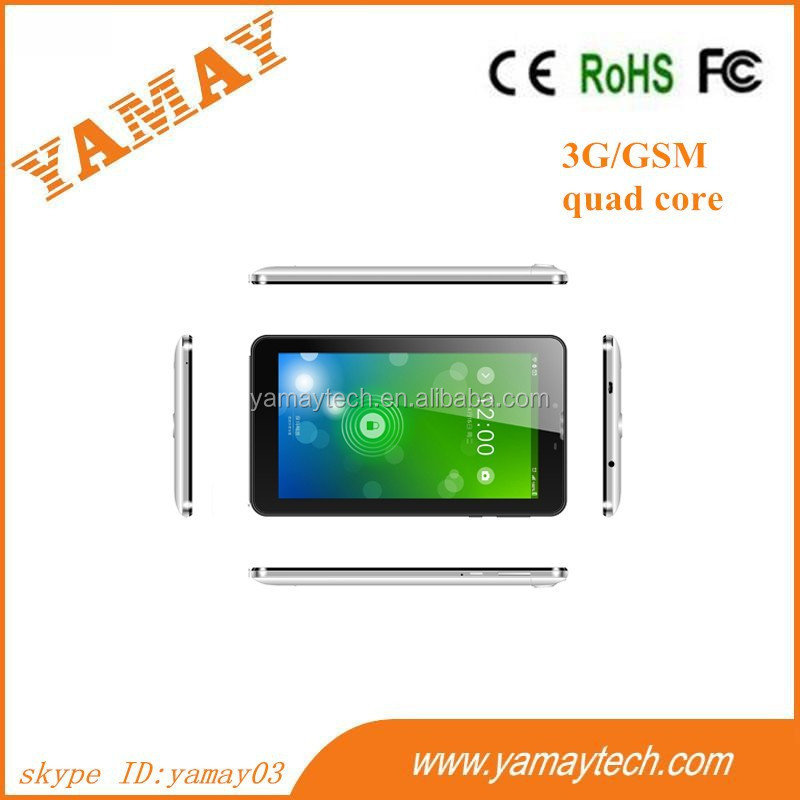 world best selling products 2014 New kids 7 inch white brand tablet pc with phone call function