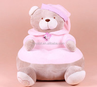 Giant teddy bear stuffed plush baby animal sofa chair for kids