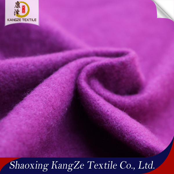 factory sale cheap price soft touch one brushed DTY polyester spandex knitted fleece fabric