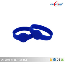 High quality rfid silicone wristband with competitive price