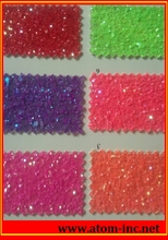 shining lace glitter PU synthetic leather