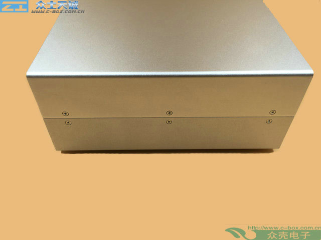 AL-15/ 65*200*170mm External dimension metal Controller Housing enclosure All-aluminum sheet metal chassis instrument case