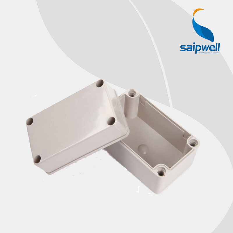 SAIPWELL/SAIP Best Selling Electronics Din Rail Box 80*110*70mm ABS/PC Waterproof Plastic Enclosure (DS-AG-0811)