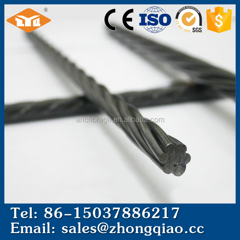 12.7mm Metal Steel Prestressed Jack Strand