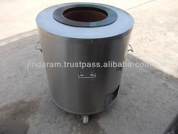 round commercial bread oven gas clay tandoor
