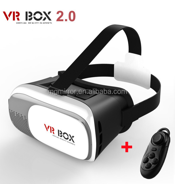 High definition vr headset games for android mobile phone with OD 42mm aspheric optical hard resin lens of Chinese supplier