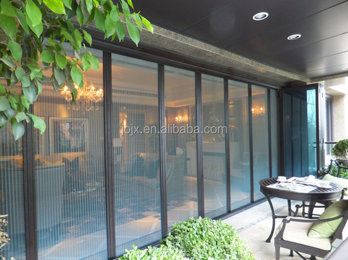 Popular retractable interior screen door easy to install and disassemble