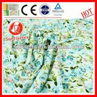 various pattern silk rayon velvet fabric made in china