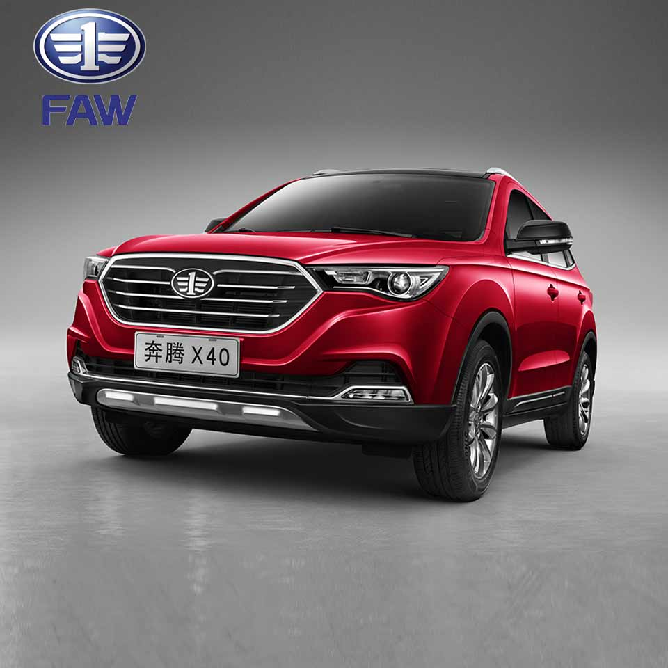 FAW X40 4x2 SUV New Sedan Car Passenger Van Rental Passenger Vehicle