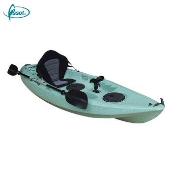 New design 2.93 meters sit on top plastic kayak with accessory