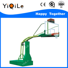 Fshion and new arrival electric hydraulic movable basketball stand