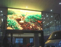 shopping mall led display P7.62 smd full color advertising indoor led screen
