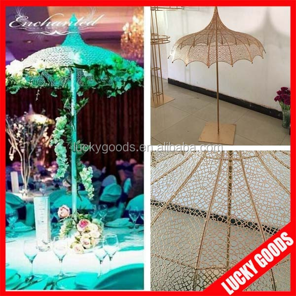fashionable umbrella shape decorative table centerpiece wedding flower stand