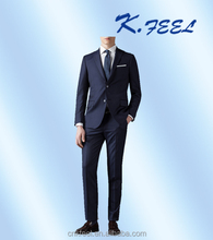 2017 Men custom fashion Wool Fitted Business Suits