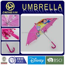 Cartoon Characters Kids Umbrella With Snow Princess