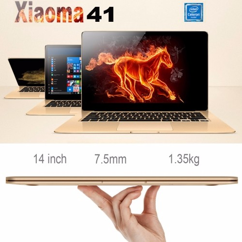 drop shipping Original ONDA Xiaoma 41, 4GB 64GB CE / FCC / ROHS / WEEE Certificated, 14 inch Window 10 Home Intel Support 256G