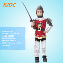 Cool cosplay children roman soldier halloween costume