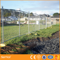 temporary metal fence panels with bracing temporary fence feet