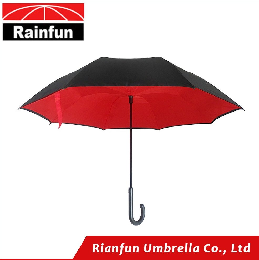 Upside down inverted umbrella patented by Rainfun