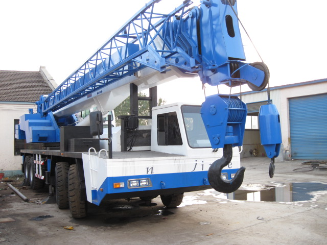 Japan second hand original Tadano truck crane for sale