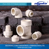 Chinese Manufacturer Plastic Fittings PVC pipe fitting PVC Thread Fittings