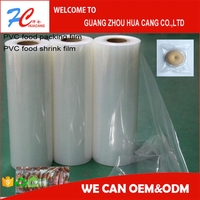 pvc food wrap film, thickness film material