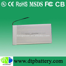 Data Power 3.7v ultra thin lipo battery for Tablet PC / MID / PDA