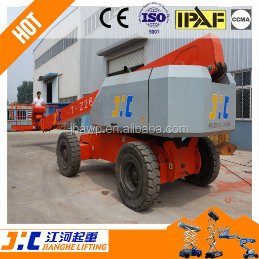 Hot Sale Telescopic Boom Manlift Hydraulic Aerial Grove Lift