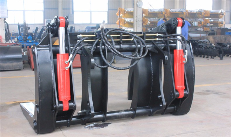 manufacturer equipment factory direct sell grapple loader for wood made in china
