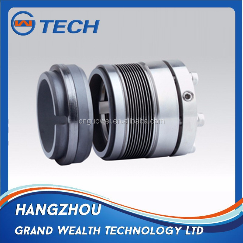 High temperature metal bellows seal MFLWT80