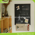 Wholesale wooden frame top quality chalk blackboard for home
