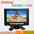 720p hd screen 7 inch digital color TV ISDB with SD USB free sample china factory