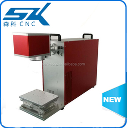 low power laser diode fiber laser marking machine about acrylic/ metal/plastic/dog tag/keyboard/pen