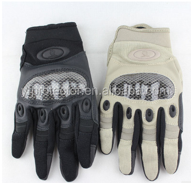 outdoor full Finger Police Tactical Military Gloves anti riot stab proof