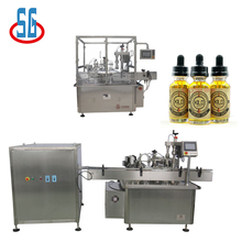 SG 5-20ml Electronic Cigarette Oil Filling Stoppering And Capping Machine E-Liquid Production Line
