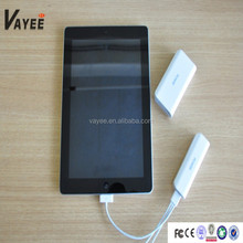 New Make Up Design Portable Power Bank 2600mAh External Battery