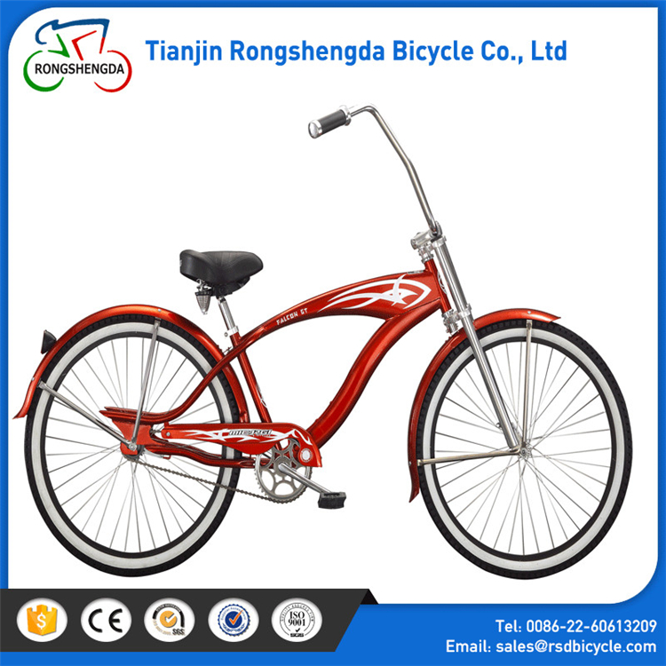 "Hot sale 26"" steel beach cruiserer bicycle/ ladies/men beach cruiser bike in stock with OEM servise"