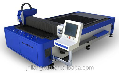 500W metal cnc fiber laser cutting machine with switching tables