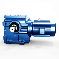 SEW style power transmission high torque reducer low speed reduction helical gearbox for Hoists conveyors gear motor